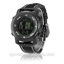 Moutain climbing equipment digital altimeter watch compass and temperature