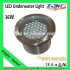 IP68 stainless steel marine boat tank lighting 36watt led aquarium light for marine use