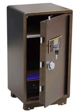 Anti-theft metal digital laptop safe