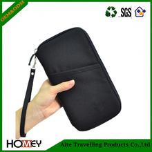 Durable Waterproof Nylon Travel Document Wallet