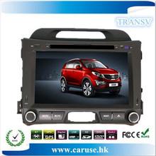 touch screen car dvd gps for kia sportage rear view camera