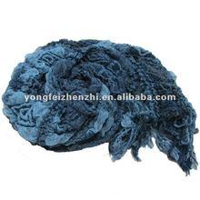Blue fashion cheap crumple shawls for sale