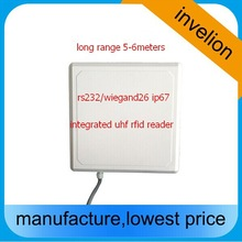 6 meters reader range rfid tag / passive epc gen2 uhf reader antenna 9.2dbi