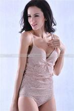 Super quality best sell nylon/spandex sexy bra set dress