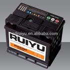 Solite battery 55530/55565 12V55AH DIN55 reconditioned car batteries for sale