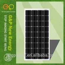 high efficiency best price mono solar panel 100 w for sale