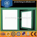 Aleación 6063 t5 ventana abatible de aluminio material, los tamaños estándar abatible hacia elinterior de la apertura de la ventana abatible