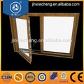 De alta calidad estándar de tamaños de ventana abatible, pequeña ventana abatible de aluminio