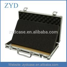 Aluminum Briefcase, Ipad Notebook Case With Foam ZYD-HZMlc005