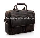 15'' Genuine Leather Laptop Bag for Men 8951