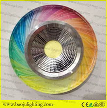 Gu10 round led recessed ceiling light fitting