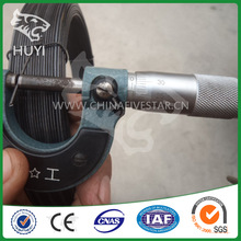 Hot sale!!! Smail coil Black soft tie Wire Machine roll (Factory price)