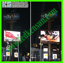 Energy saving full color HD LED video display screen led 8mm pitch