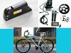 BBS-01 36v 350w bafang mid drive motor kit with 36v 13ah Samsung downtube battery