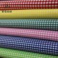 Hilo poliéster 100% tela teñida/moda monocheck/colorido de verificación