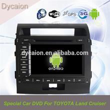 car stereo radio dvd gps Toyota Land Cruiser/car auto radio dvd gps android/Car multimedia radio dvd gps for toyota Land Cruiser