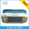 Handheld 4.3 inch 8gb game player for sony for psp game with camera