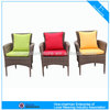 A - outdoor furniture rattan chairs with aluminum feet cover 8004AC