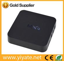 MXQ Amlogic S805 Quad-Core Anadroid 4.4.2 Mali-450 4 High speed USB 2.0 external tv tuner box
