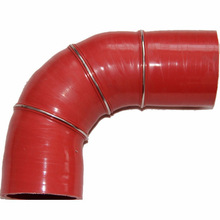 Hot Selling high pressure and high temperature automobile parts coolant / radiator silicon tube / 90degree elbow hose