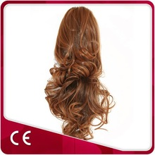 Customized Fashion Clip Claw Synthetic Hair Ponytail