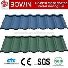 metal roofing /metal building material /red metal roof tile