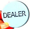 Pro botón del repartidor/grado de casino poker dealer button 158mm componentes del reloj