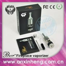 Crazy! Pluto dry herb atomizer electric cigarette wax vaporizer Pluto fireplace