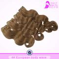 coffee brown cor do cabelo extensão do cabelo remy atacado europeu de cabelo cor de marca