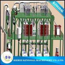 atta wheat flour machinery