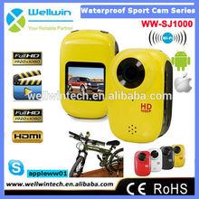 SJ1000 Full 1080P HD 12m Waterproof Camera Mini Sport DV Camera / Car Bike Drive Helmet Video Recorder