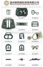 GL-S0670 fashion design metal decorative shoe buckles metal buckles for shoes