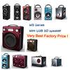 Single 6.5inch battery active usb sd wireless battery speaker Best price!