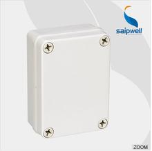 Saip New ip65 plastic waterproof electrical junction box, Waterproof Electrical Switch Box (Screw Open-Close Type) 80*110*45mm