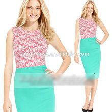 new arrival sleeveless OL fashion design office skirt , wholesale women clothing #OF34