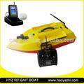 Lago usando frente a Sonar GPS para la pesca barco