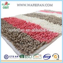chenille anti slip bath fashion and carpet /carpet tiles/ flooring