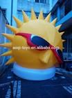 pvc inflatable cartoon/big inflatable animals /advertising cartoon