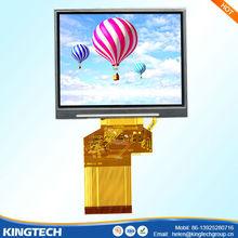 3.5 inch 320x240 230nits thin usb lcd touch screen