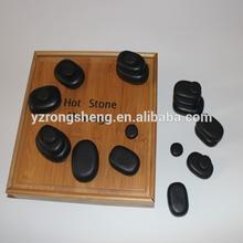 bulk wholesale massage tool large flat polished black shiny body massage products