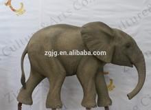 Forest Park Alive Fiberglass elephent for sale