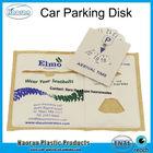 Promotional Customized PVC Parking Disc Car Decal