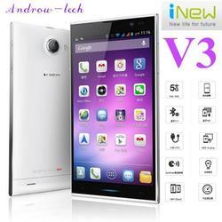 Original Inew V3 MTK6582 Quad Core Smartphone 5.0inch HD Screen 1G RAM 16G ROM Android 4.2 13.0MP Camera Ultra-thin phone