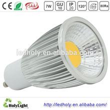 china manufacturer high power wholesale price 7w led gu10
