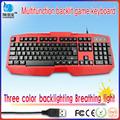mais recente jogo colorido iluminado teclado de computador
