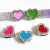 Wholesale fashion 8mm slide charms, sports ball slide charms, heart slide charms
