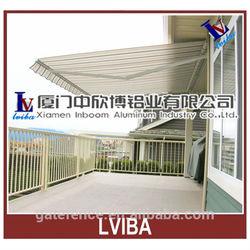 China made aluminum folding awning