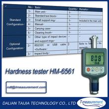 portable metal hardness tester digital hardness tester HM-6561