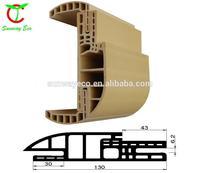 WPC door frame/wpc door casing/waterproof pvc door frame OEM ODM welcome (TCF-130C SET)