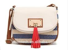2014 cheap 100% Fashion ladies shoulder bag canvas Women Handbags